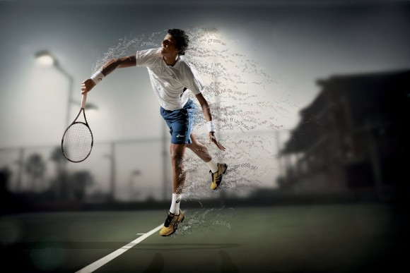 Фото дня: отличное рекламное фото от компании Asics
