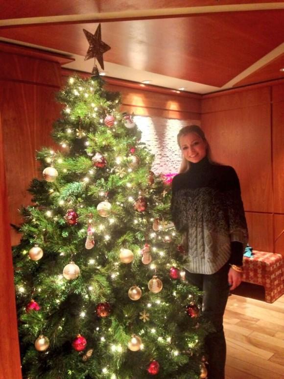 Мария Кириленко поздравила всех с Рождеством