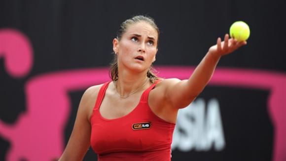 Александра Панова проиграла в первом круге в Брисбене