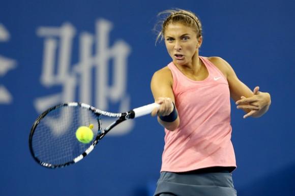 Сара Эррани прошла во второй круг на турнире в Китае