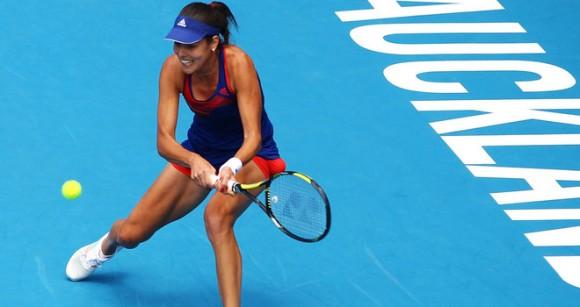 В финале турнира WTA в Окленде встретятся Иванович и Уильямс