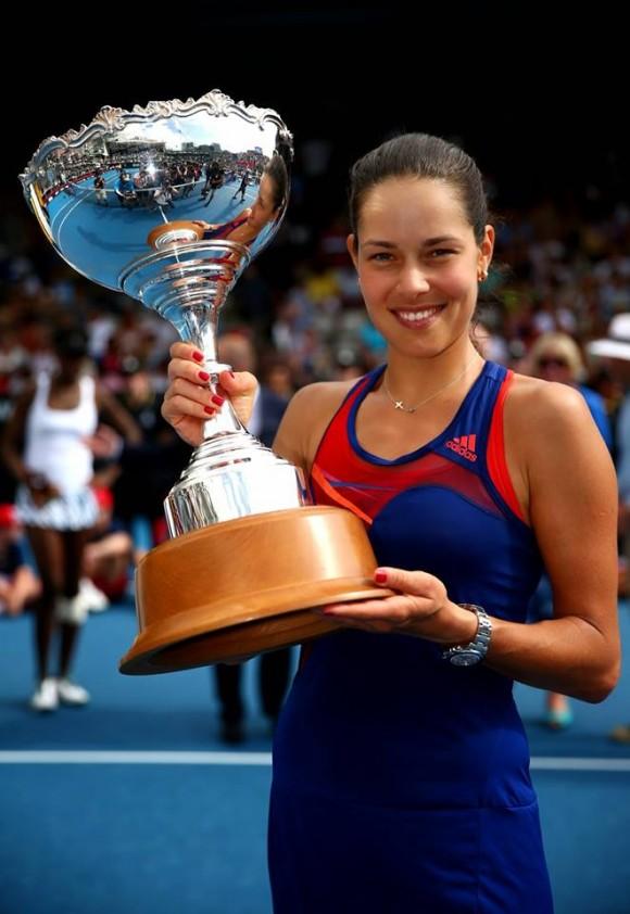 Ана Иванович выиграла турнир WTA в Окленде