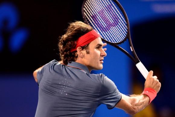 Роджер Федерер обыграл Маррея и вышел в полуфинал в Мельбурне