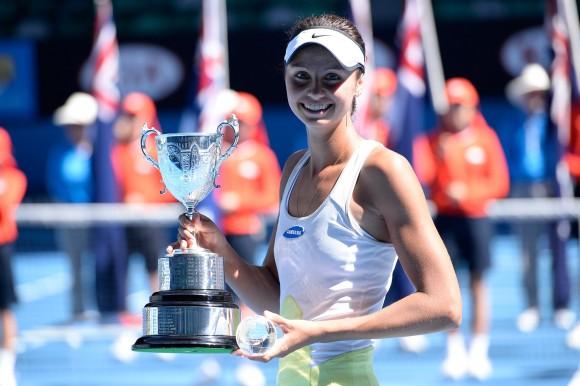 Елизавета Куличкова выиграла юниорский Australian Open 2014
