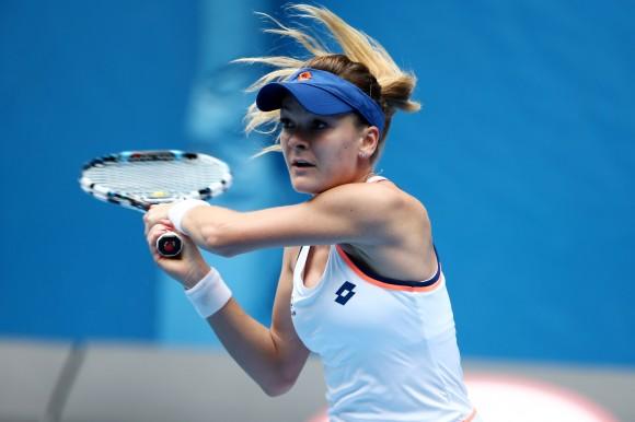 Фото ausopen.com: польская теннисистка Агнешка Радваньска
