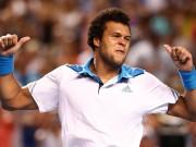 Жо-Вильфрид Тсонга вышел в третий раунд Australian Open 2014