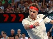 Роджер Федерер на турнире в Брисбене