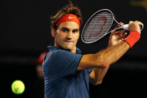 Роджер Федерер выиграл первый матч на Australian Open