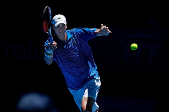 В финале турнира ATP в Окленде сыграют Изнер и Лу Ень-Хсунь
