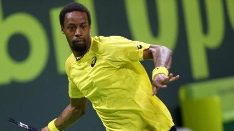 Гаэль Монфис стал финалистом турнира ATP в Дохе