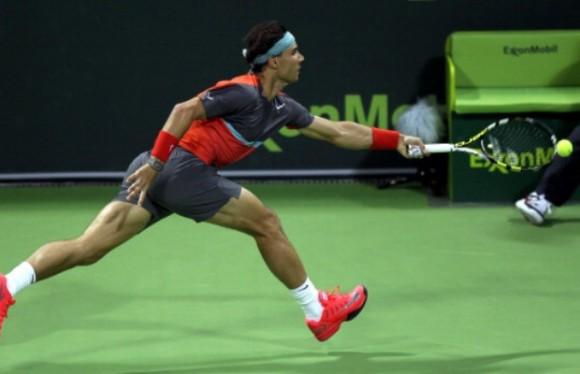 Рафаэль Надаль вышел в финал на турнире ATP в Дохе