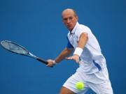 Николай Давыденко на турнире в Мельбурне