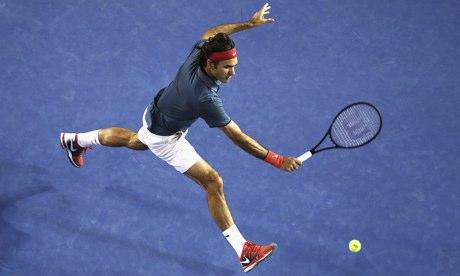 Роджер Федерер обыграл Тсонгу и вышел в 1/4 финала в Мельбурне