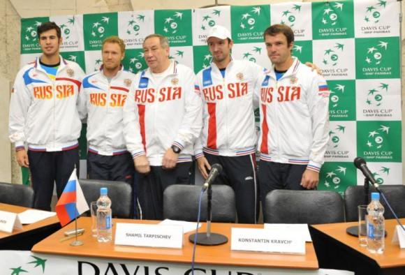 Дмитрий Турсунов ответил на вопросы о матче на Кубке Дэвиса