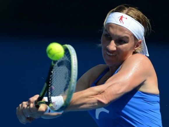 Светлана Кузнецова выиграла первый матч на турнире в Таиланде
