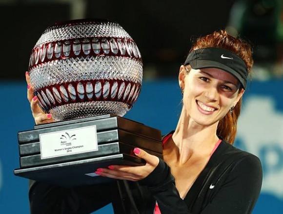 Болгарка Пиронкова выиграла свой первый титул WTA в Сиднее