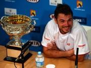 Станислас Вавринка вошел в историю тенниса после победы в Мельбурне
