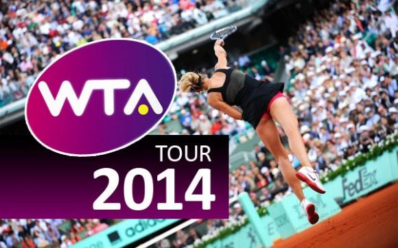 Календарь женских турниров WTA 2014