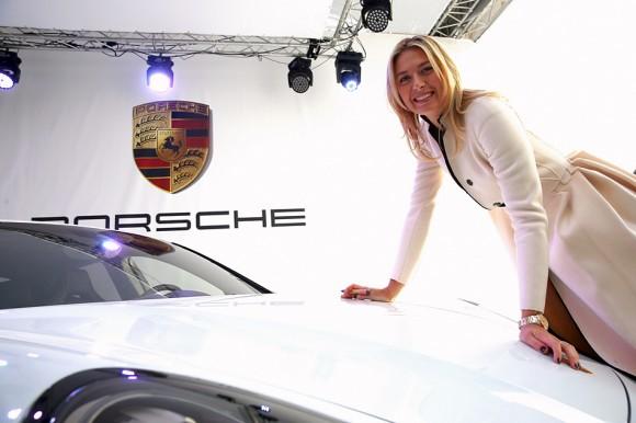 Мария Шарапова провела презентацию своего именного авто