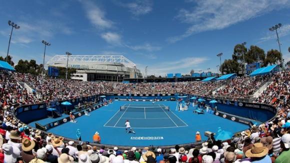 Один из стадионов на Открытом Чемпионате Австралии