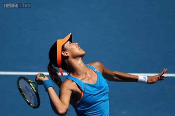 Ана Иванович прошла во второй раунд на турнире Qatar Open в Дохе
