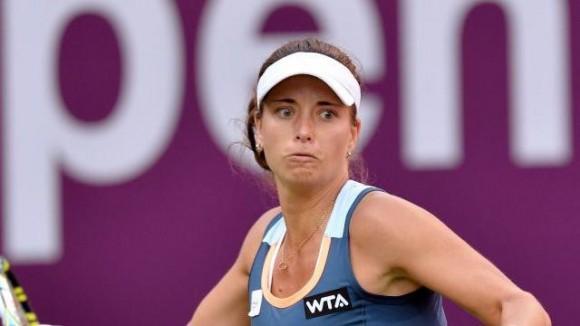 Анжелика Кербер стала первой финалисткой турнира WTA в Дохе