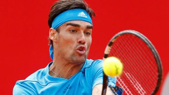 Фото: итальянский теннисист Фабио Фоньини (2