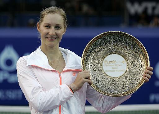 Екатерина Макарова выиграла турнир WTA Pattaya Open в Таиланде