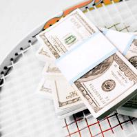 Теннис и деньги