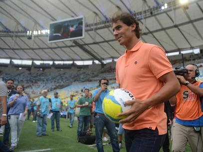 Рафаэль Надаль открыл футбольный матч в Рио-де-Жанейро
