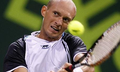 Николай Давыденко проиграл на турнире ATP во Франции