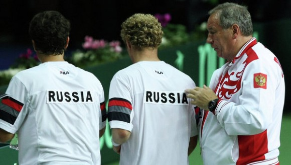 Сборная России скатилась на 35 строчку в Кубке Дэвиса