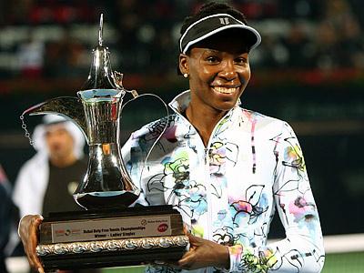 Винус Уильямс выиграла турнир WTA в Дубае