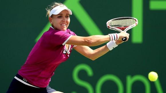 Елена Веснина на турнире Sony Open в Майами