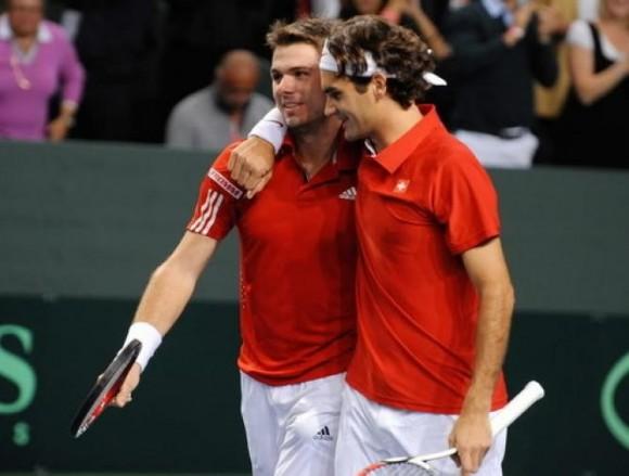Вавринка и Федерер вновь сыграют в паре в Калифорнии
