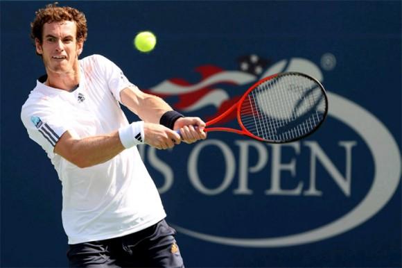Энди Маррей на Открытом Чемпионате США по теннису