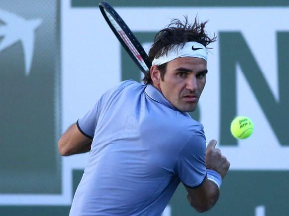 Роджер Федерер вышел в третий круг турнира в Индиан-Уэллсе