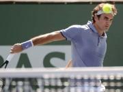 Hot Shot швейцарца Роджера Федерера в матче с Андерсоном