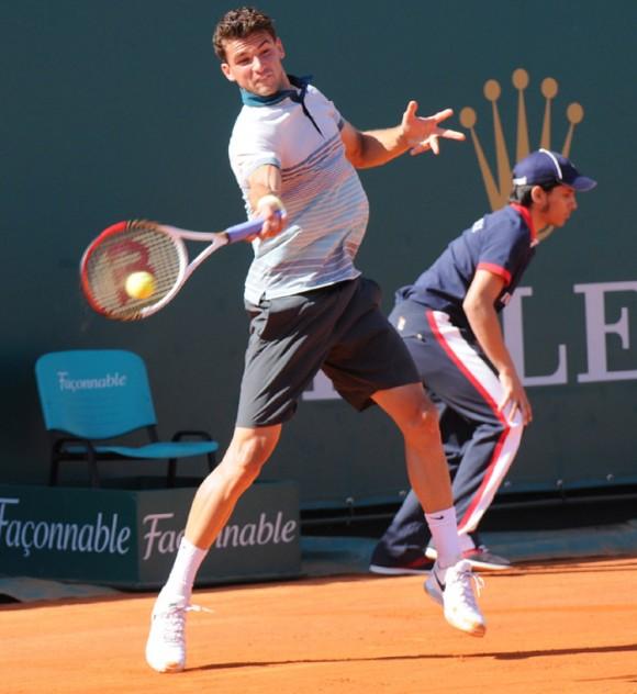 Григор Димитров на Открытом Чемпионате Франции по теннису