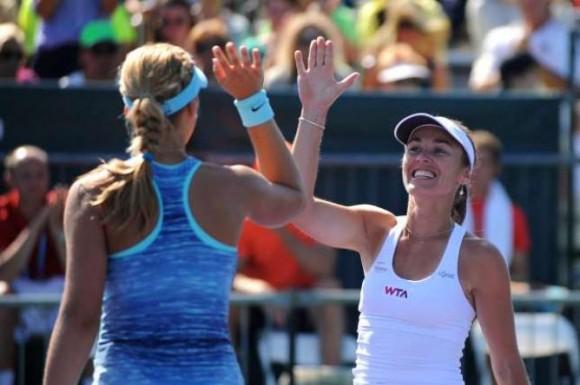 Мартина Хингис попала в финал турнира WTA спустя 7 лет