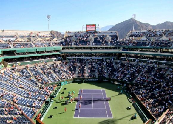 Основная сетка турнира WTA BNP Paribas Open в Индиан-Уэллсе