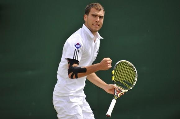 Ежи Янович на турнире ATP