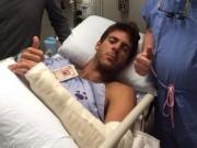 Аргентинцу Дель Потро сделали операцию на руке