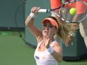 Фото: польская теннисистка Агнешка Радваньска в Индиан-Уэллсе