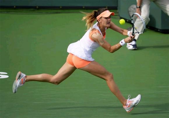 Радваньска и Халеп вышли в 1/2 финала турнира WTA в Индиан-Уэллсе