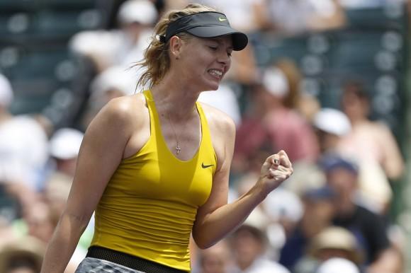 Мария Шарапова вышла в полуфинал турнира в Майами