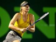 Шарапова выиграла первый матч на турнире в Майами