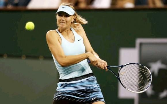 Мария Шарапова обыграла Гергес на турнире в Индиан-Уэллсе