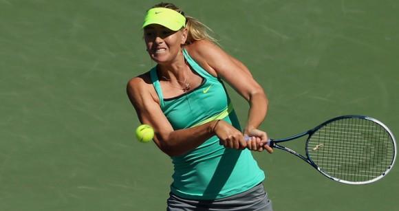 Мария Шарапова вышла в четвертый раунд в Майами
