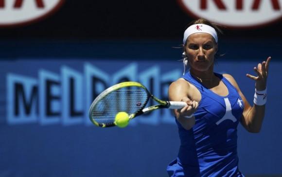 Светлана Кузнецова на Открытом Чемпионате Австралии по теннису